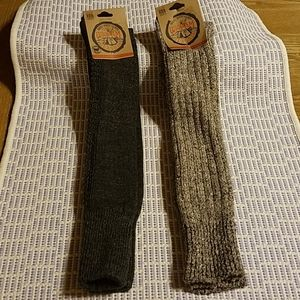 2 New Pairs of Wigwam Women's Knee High Socks 6-10